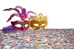Carnaval-Partijsteunen stock afbeelding