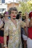 Carnaval populaire brésilien de rue avec la musique de samba Photo libre de droits