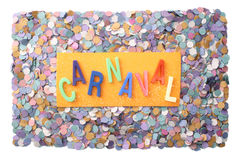 Carnaval - Portuguese(Br) Royalty Free Stock Photos