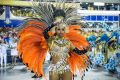 Carnaval 2014 - Rio de Janeiro Royalty-vrije Stock Foto
