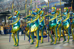 Carnaval 2014 - Rio de Janeiro Stock Foto's