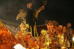 CARNAVAL RIO DE JANEIRO - FEBRUARY20: Foto de Stock Royalty Free