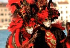 Carnaval rojo Fotos de archivo