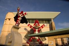 Carnaval 's van Viareggio begin Stock Foto's