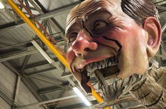 Carnaval 's van Viareggio begin Stock Foto