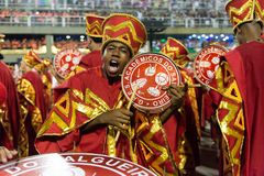 Carnaval 2019 - Salgueiro imagens de stock royalty free