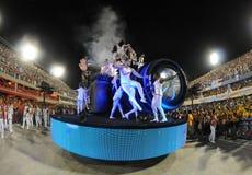Carnaval Samba Dancer Brazil Arkivfoton