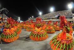 Carnaval Samba Dancer Brazil Stockfotos