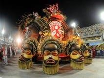 Carnaval Samba Dancer Brazil Lizenzfreie Stockfotografie