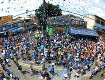 Carnaval Samba Dancer Brazil stock foto