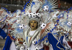 Carnaval Samba Dancer Brazil Photos stock