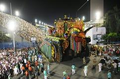 Carnaval - Samba School-parade stock fotografie