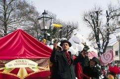 Carnaval in Samobor Stock Afbeeldingen