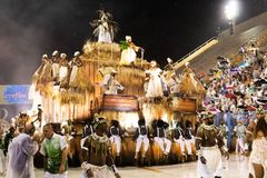 Carnaval Santa Cruz 2019 imagem de stock