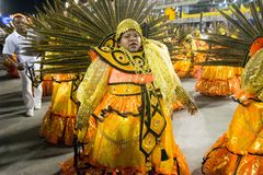 Carnaval 2016 - Sao Clemente Stock Photography