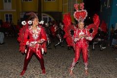 Carnaval Sao Nicolau, Cabo Verde Imagenes de archivo
