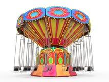 Carnaval-Schommelingsrit Royalty-vrije Stock Fotografie
