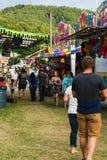 Carnaval situado a mitad del camino Foto de archivo