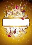 Carnaval-spiegel 2 stock illustratie