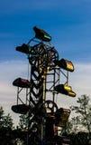 Carnaval steampunk royalty-vrije stock foto's