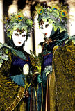 Carnaval stelt Venetië, Italië voor stock afbeeldingen