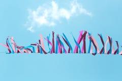 Carnaval-stroken stock afbeeldingen