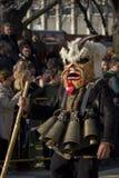 Carnaval Survakar de la máscara de Surva Kuker Imágenes de archivo libres de regalías