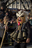 Carnaval Survakar de masque de Surva Kuker Images libres de droits