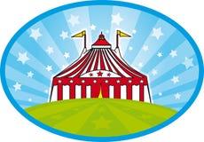 carnaval tent vektor illustrationer
