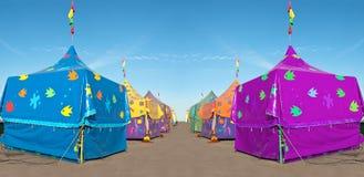 Carnaval-tenten Royalty-vrije Stock Afbeeldingen