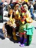 Carnaval tradicional da mola em Malta foto de stock royalty free