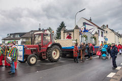 Carnaval tradicional em Bona Foto de Stock Royalty Free