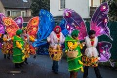 Carnaval tradicional en Bonn imagenes de archivo