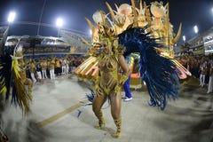Carnaval 2017 - Uniao a Dinamarca Ilha Fotografia de Stock Royalty Free