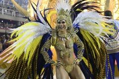 Carnaval 2017 - Uniao a Dinamarca Ilha Fotos de Stock Royalty Free