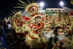 Carnaval 2017 - Uniao a Dinamarca Ilha Fotografia de Stock