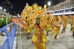 Carnaval 2018 - Unidos DE Padre Miguel royalty-vrije stock afbeelding
