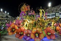 Carnaval 2018 - Unidos DE Padre Miguel stock afbeeldingen