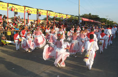 Carnaval van Barranquilla Royalty-vrije Stock Foto