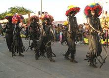 Carnaval van Barranquilla Stock Foto