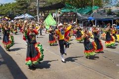 Carnaval van Barranquilla, in Colombia stock fotografie