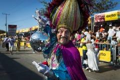 Carnaval van Barranquilla, in Colombia Royalty-vrije Stock Afbeeldingen