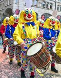 Carnaval van Bazel - Slagwerker Stock Foto