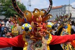 Carnaval van culturen in Berlijn Stock Foto