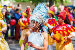 Carnaval van Culturen in Berlijn, Duitsland Royalty-vrije Stock Afbeeldingen