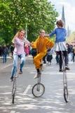Carnaval van Culturen in Berlijn, Duitsland Stock Foto
