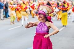 Carnaval van Culturen in Berlijn, Duitsland Royalty-vrije Stock Foto's