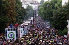 Carnaval van de Heuvel van Notting in West-Londen, het UK Stock Fotografie