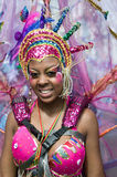 Carnaval van de Heuvel van Notting in West-Londen, het UK Royalty-vrije Stock Afbeelding