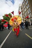 Carnaval van de Heuvel van Notting in West-Londen, het UK Stock Afbeeldingen
